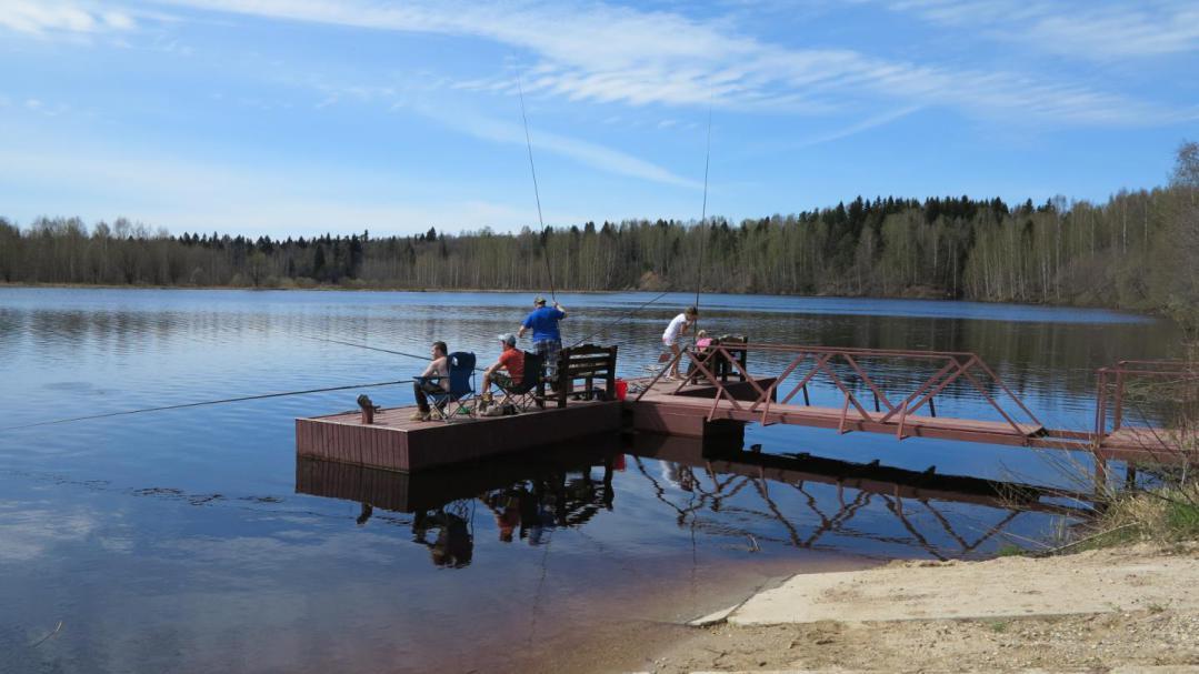 Рыбалка на Рыбинском водохранилище весной