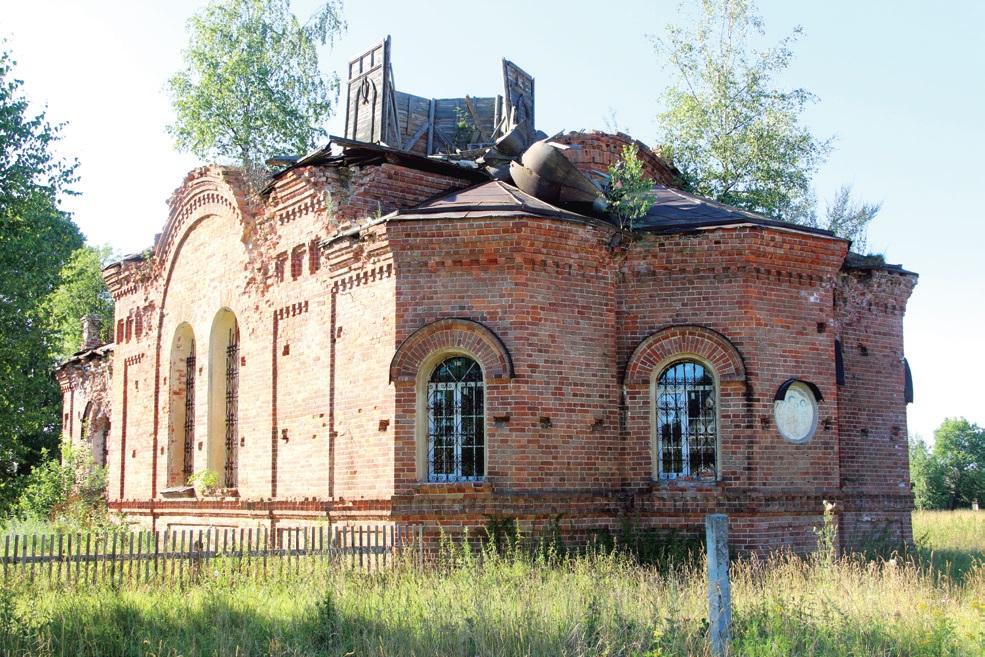 Церковь Благовещения Пресвятой Богородицы в Горинском