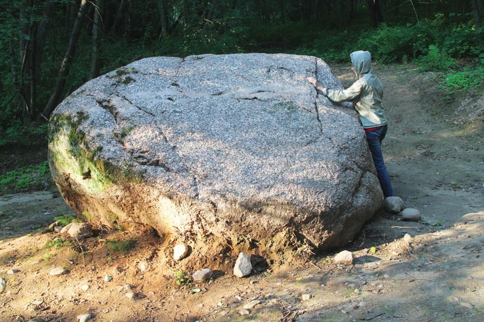 Каменный валун в д. Торонково