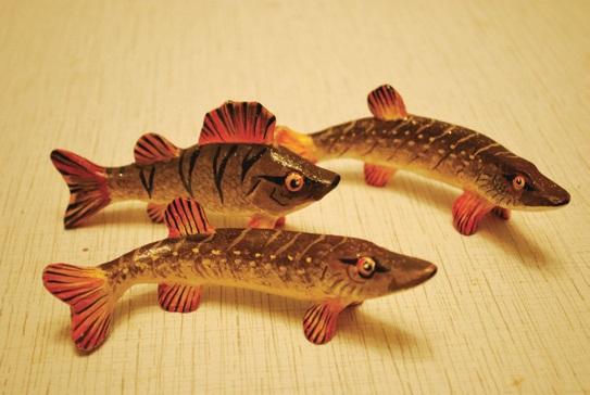 Глиняные рыбки