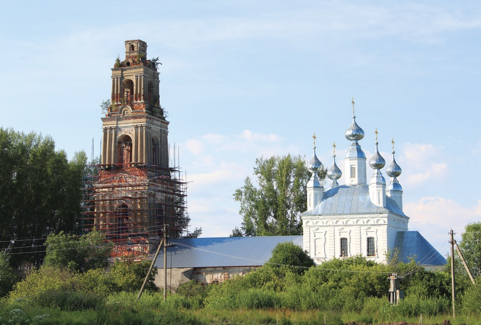 Храм Покрова Пресвятой Богородицы в селе Покровское на Сити
