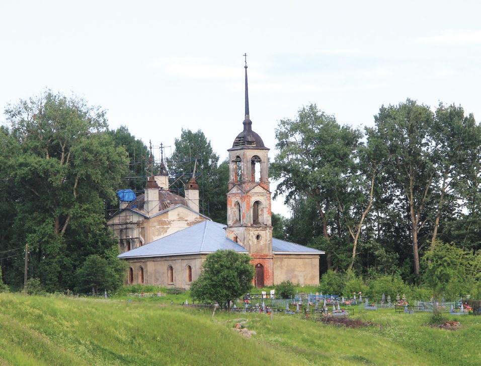 Храм Михаила Архангела в Семеновском, построен в 1806 году